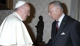 Ekmeleddin İhsanoğlu Papa'yla görüştü