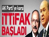 CHP-MHP seçim ittifakı başladı