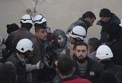 Şam'a varil bombası