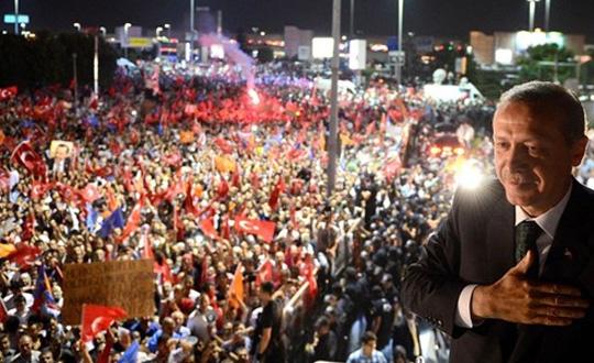 Halk Erdoğan'a Desteğini Gösterecek