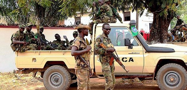 Orta Afrika Cumhuriyeti'nde Çatışmalar Sürüyor
