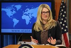 ABD sözcüsü Harf kınayamadı