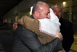 Gazeteci Metin Turan Türkiye'ye geldi