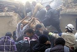 Halep'te ekmek fırınına saldırı: 25 ölü