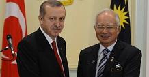 Malezya ile 5 Milyar Dolarlık El Sıkışma