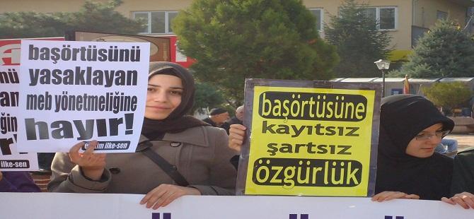 Antakya'da Başörtülü Öğrencilere Baskı