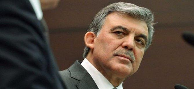 Gül'den 'yeni parti' açıklaması