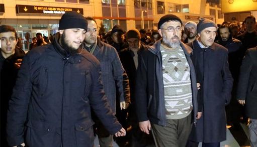 İHH üyesine Kayseri'de coşkulu karşılama