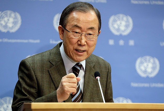 Ban Ki-Mun'dan Sisi'ye mesaj