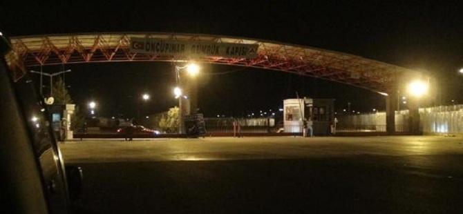 Suriye Sınır Kapıları Kapatıldı