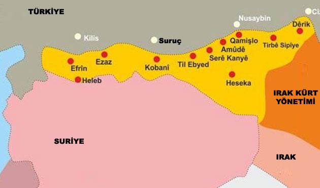 Suriyeli Kürtler Özerklik İlan Etti