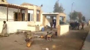 Mısır'da kontrol noktasına saldırı
