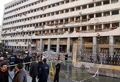 Mısır Gün'e Bombalarla Uyandı