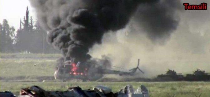 İspanya'da Askeri Helikopter Düştü
