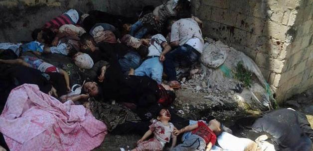Halep'e Yine Varil Bombası
