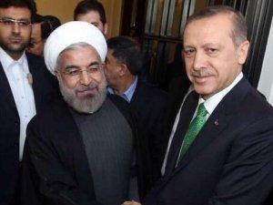 İran Cumhurbaşkanı Hasan Ruhani Beştepe'de