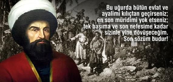 Kafkas Kartalı Şeyh Şamil (1797-1871)
