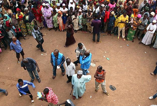 Bangui'de 4 Bin Müslüman Cami'ye Sığındı