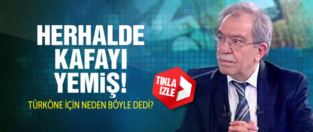 'Mümtazer Türköne Kafayı Yemiş!' (Video)