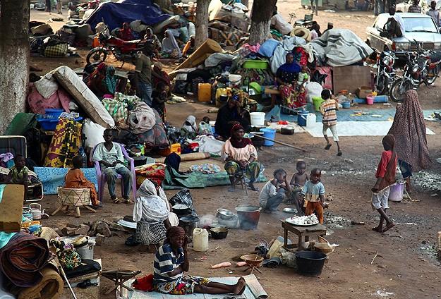 Orta Afrika'da Toplu Mezar Bulundu