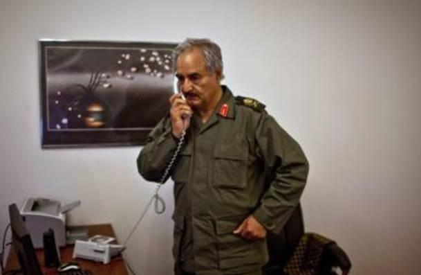 Libya'da Darbe Çağrısı Yapan Komutan Tutuklandı