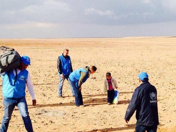 4 Yaşındaki Suriyeli Sınırı Tek Başına Aştı