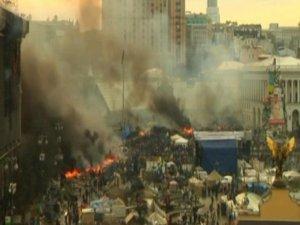 Kiev'den Dumanlar Yükseliyor