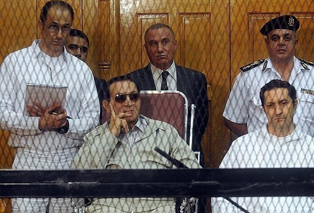 Mübarek'e Hapis Cezası