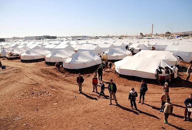 Çadır kentler çatışmalardan kaçanların sığınağı