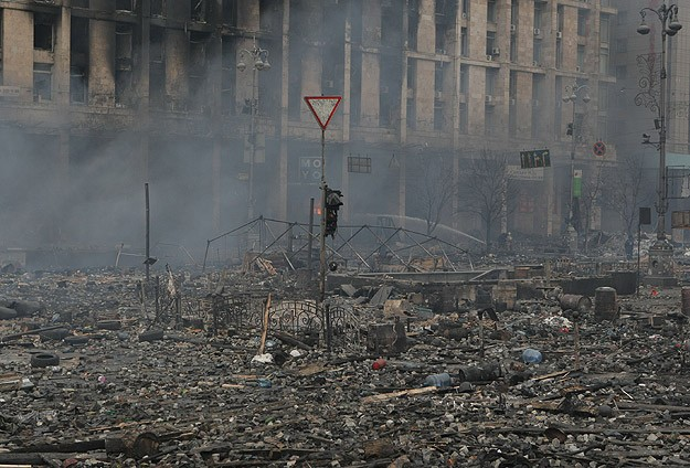 Donetsk'te çatışmalar yoğunlaştı