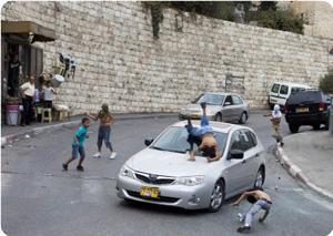 Otomobiliyle Filistinli Çocuğa Çarptı