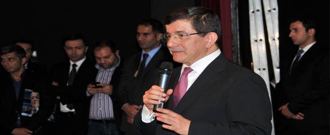 AKP Konya Mitinginde Ahmet Davutoğlu Konuştu