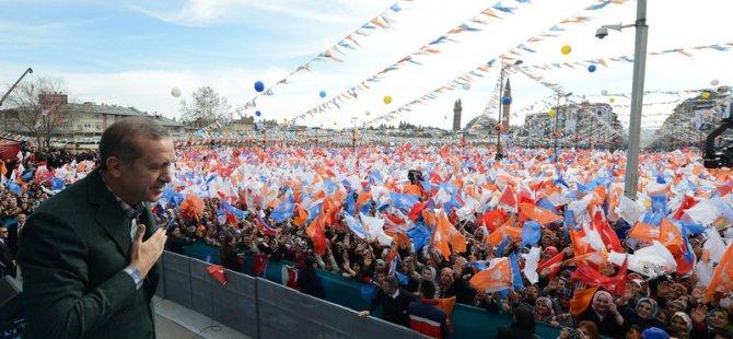 Erdoğan Kırıkkale'de Konuştu