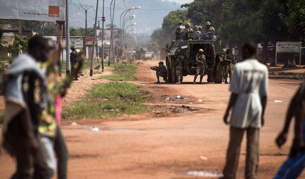Orta Afrikalı generalden itiraf