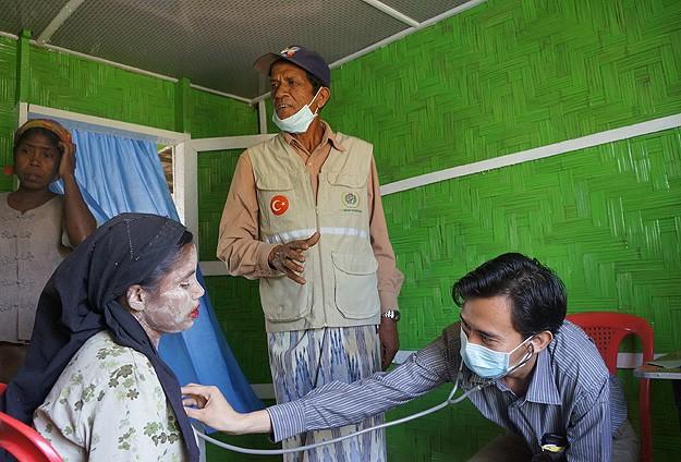Myanmar'ın Arakan'da Doktora Bile Tahammülü Yok