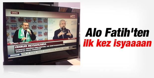 Habertürk Başbakan Erdoğan yerine Kılıçdaroğlu'nu Verdi
