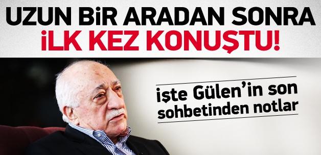 Zaman Yazarı Gülen'in Sohbetini Yazdı