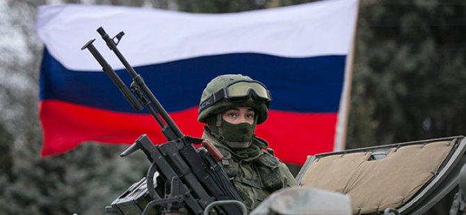 Rus askeri Ukrayna'ya Girdi