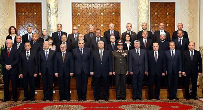 Mısır'da yeni Kabine Yemin Yetti