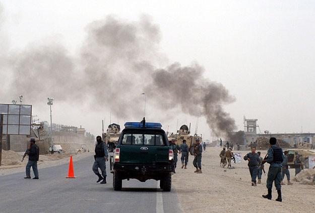 Taliban'dan Baskın