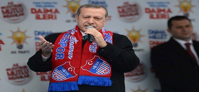 Türkiye'yi hiçbir Fitne Girişimi Teslim Alamayacaktır