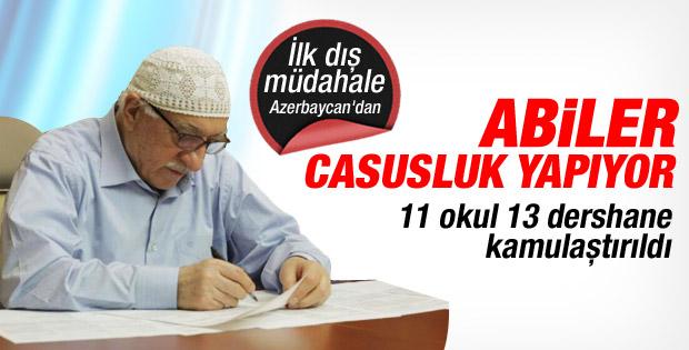 Azerbaycan'da Cemaat'in Okulları Kamulaştırıldı