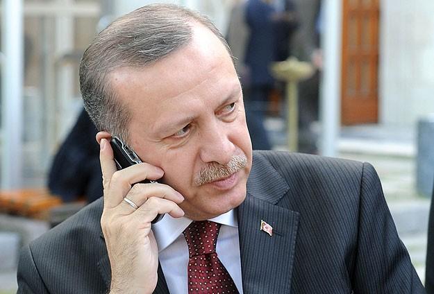 Erdoğan, Meşal ve Abbas İle Görüştü