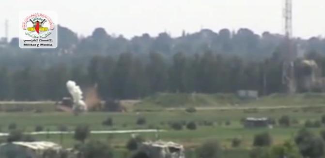 İslami Cihad'dan Füze Saldırısı VİDEO