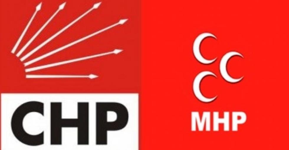 MHP'den CHP'ye  Ret!
