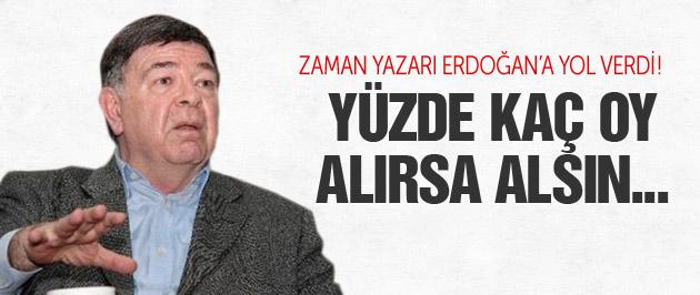 Zaman yazarı: AK Parti Yüzde Kaç Oy Alırsa Alsın