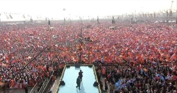 Erdoğan: Yenikapı'da 2 milyon kişi vardı