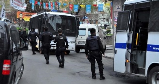 Okmeydanı'nda polis ablukası
