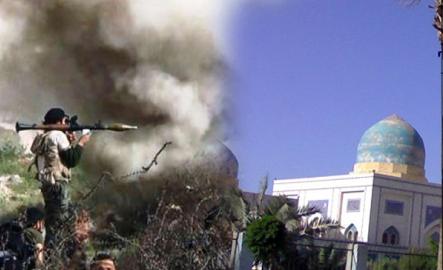 Veysel Karani'nin Türbesini de Bombaladılar