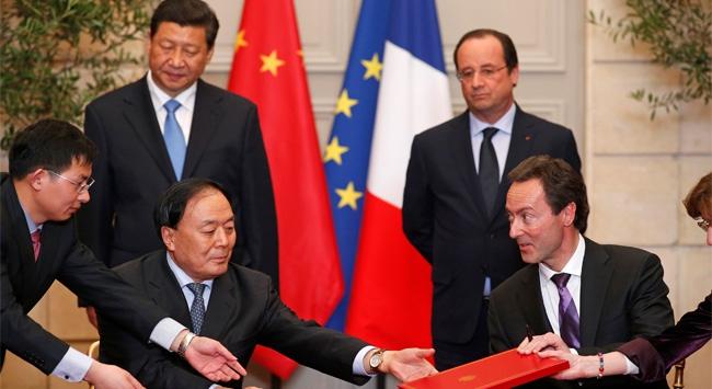 Fransa ve Çin'den 18 milyar Avroluk İmza